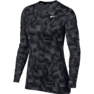 NEW Nike Dry Women's Golf Top Gradient Long Sleeve